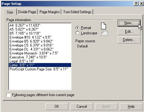 Using the postscript driver to make postscript files with